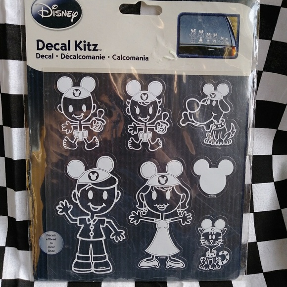 Other - Disney Family Sticker Decals